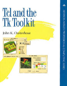 Tcl and the Tk Toolkit - John K. Ousterhout - cover