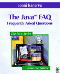The Java (TM) FAQ - Jonni M. Kanerva - cover