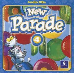 New Parade, Level 4 Audio CD - Mario Herrera,Theresa Zanatta - cover