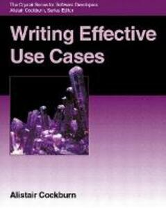 Writing Effective Use Cases - Alistair Cockburn - cover
