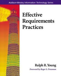 Effective Requirements Practices - Ralph R. Young - cover