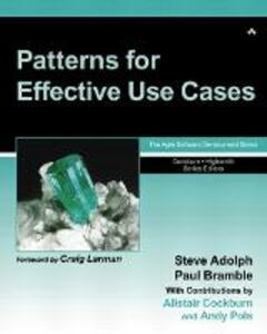 Patterns for Effective Use Cases - Steve Adolph,Paul Bramble,Alistair Cockburn - cover