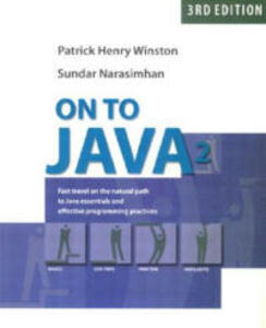 On to Java - Patrick Henry Winston,Sundar Narasimhan - cover