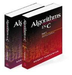 Algorithms in C, Parts 1-5 (Bundle): Fundamentals, Data Structures, Sorting, Searching, and Graph Algorithms - Robert Sedgewick - cover
