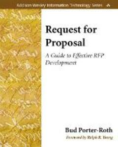 Request for Proposal: A Guide to Effective RFP Development - Bud Porter-Roth - cover