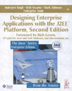 Designing Enterprise Applications with the J2EE (TM) Platform - Inderjeet Singh,Beth Stearns,Mark Johnson - cover