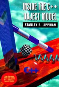 Inside the C++ Object Model - Stanley B. Lippman - cover