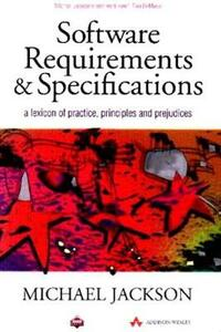 Software Requirements And Specifications - M. Jackson - cover