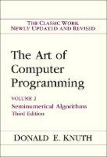 Art of Computer Programming, Volume 2: Seminumerical Algorithms - Donald E. Knuth - cover