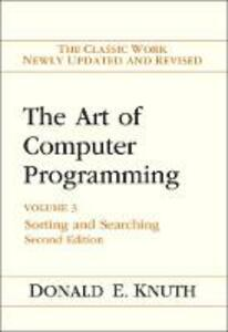 The Art of Computer Programming: Volume 3: Sorting and Searching - Donald E. Knuth - cover