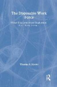 The Disposable Work Force: Worker Displacement and Employment Instability in America - cover