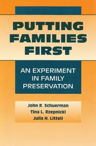 Putting Families First: Modern Applications of Social Work - cover