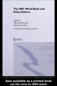 Ebook in inglese IMF, World Bank and Policy Reform -, -