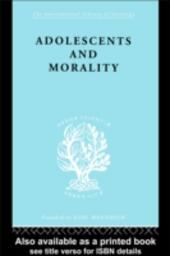 Adolescents and Morality