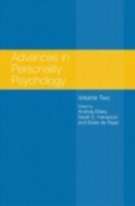Foto Cover di Advances in Personality Psychology, Ebook inglese di  edito da Taylor and Francis