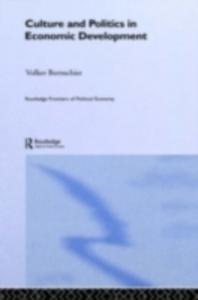 Ebook in inglese Culture and Politics in Economic Development Bornschier, Volker