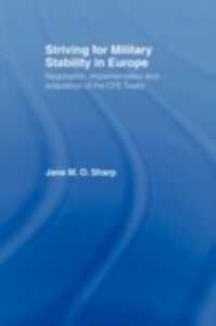 Ebook in inglese Striving for Military Stability in Europe -, -