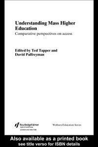 Ebook in inglese Understanding Mass Higher Education -, -