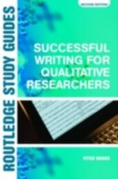 Successful Writing for Qualitative Researchers