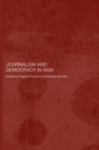 Ebook in inglese Journalism and Democracy in Asia -, -