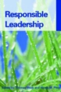 Foto Cover di Responsible Leadership, Ebook inglese di  edito da Taylor and Francis