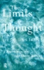 Ebook in inglese Limits of Thought Bohm, David , Krishnamurti, J.