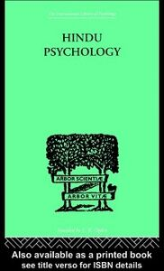 Ebook in inglese Hindu Psychology Akhilananda, Swami