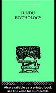 Ebook in inglese Hindu Psychology Akhilananda, Swami