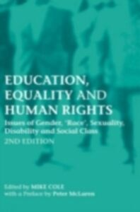 Ebook in inglese Education, Equality and Human Rights