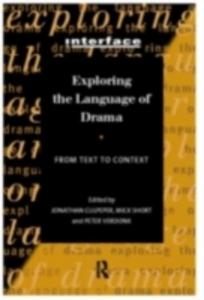 Ebook in inglese Exploring the Language of Drama -, -