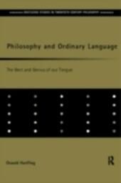 Philosophy and Ordinary Language