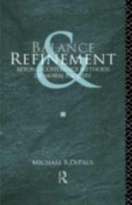 Ebook in inglese Balance and Refinement DePaul, Michael R.