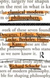 Classical Modern Philosophers