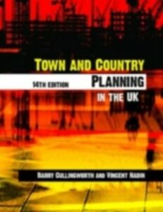 Ebook in inglese Town and Country Planning in the UK Cullingworth, Barry , Nadin, Vincent