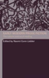 Foto Cover di Early Modern Prose Fiction, Ebook inglese di  edito da Taylor and Francis
