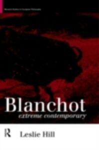 Ebook in inglese Blanchot Hill, Leslie