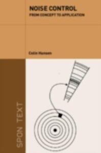 Foto Cover di Noise Control, Ebook inglese di Colin Hansen, edito da Taylor and Francis