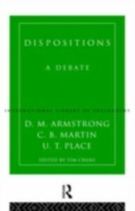Ebook in inglese Dispositions Armstrong, D.M. , Martin, C.B. , Place, U.T.