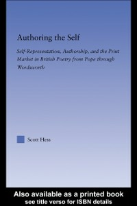 Ebook in inglese Authoring the Self Hees, Scott