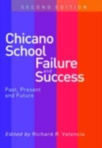 Foto Cover di Chicano School Failure and Success, Ebook inglese di  edito da Taylor and Francis
