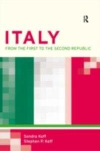 Foto Cover di Italy, Ebook inglese di Stephen P. Koff, edito da Taylor and Francis
