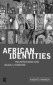Ebook in inglese African Identities Kanneh, Kadiatu