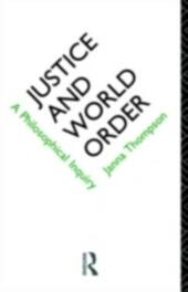 Justice and World Order