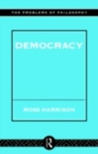 Ebook in inglese Democracy Harrison, Ross