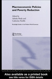 Ebook in inglese Macroeconomic Policies and Poverty -, -