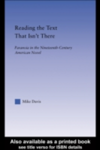 Ebook in inglese Reading the Text That Isn't There Davis, Mike