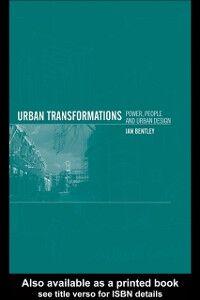 Ebook in inglese Urban Transformations Bentley, Ian