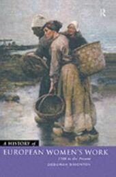 History of European Women's Work