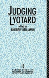 Ebook in inglese Judging Lyotard -, -