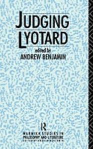Ebook in inglese Judging Lyotard -, -